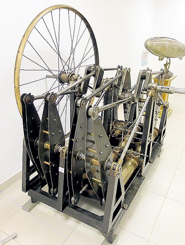 Механизм для самобеглой коляски, придуманный русским самородком. Фото: Vikond65.livejournal.com