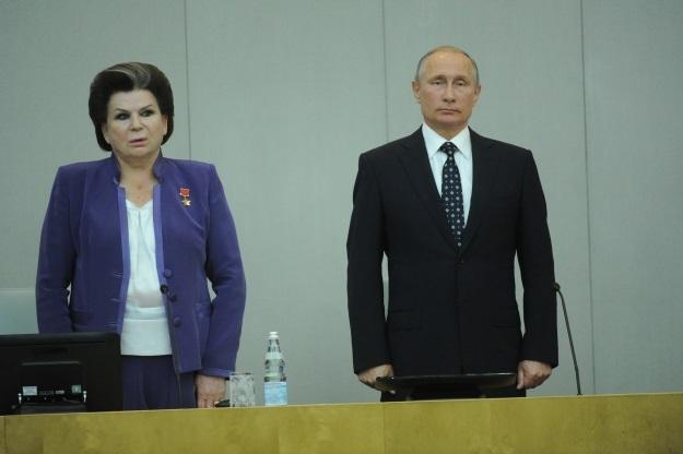 Валентина Терешкова и Владимир Путин (Фото: Владимир Веленгурин/