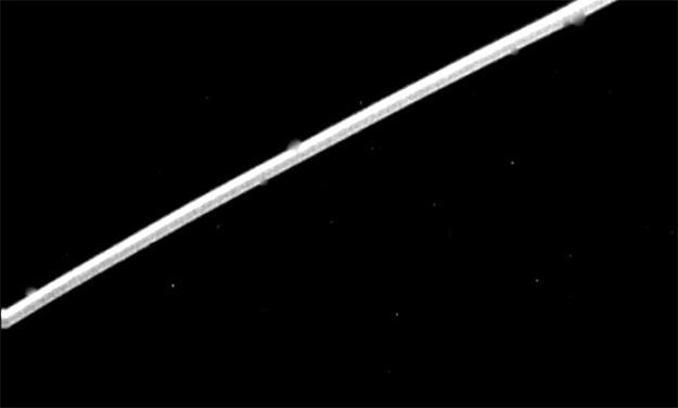 Кольцо Эпсилон с расстояния 1,12 млн км в одном из самых широких мест. Фото: jpl.nasa.gov