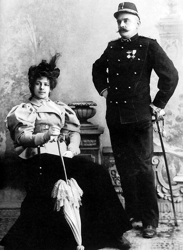 Маргарет с мужем Рудольфом