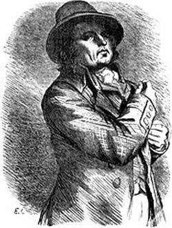 Шарль Анри Сансон на портрете Э. Лампсониуса. Фото: Википедия