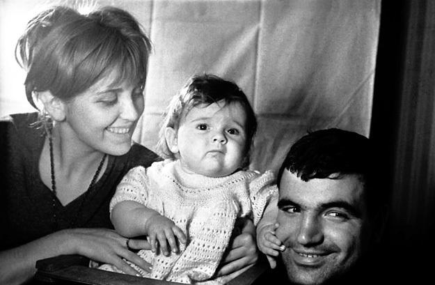 С родителями (1964 г.)