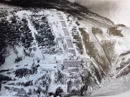 Завод Веморк, где в 40-х производилась тяжелая вода. Источник: nealbascomb.com