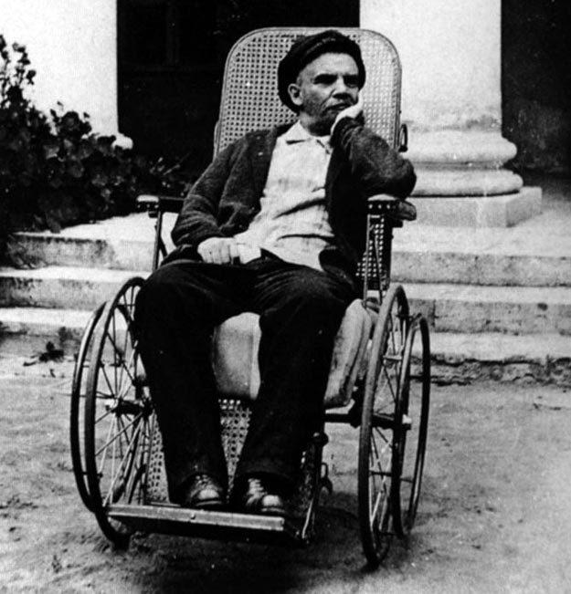 Ленин в Горках. 1923 г. Фото: Википедия