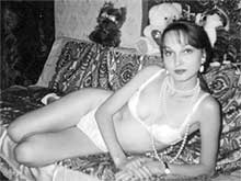 Модель для борделя Анка (фото из архива ГУВД)