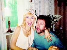 МАША: с экс - супругом Владимиром Ермаковым