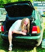 ВЛАДИМИР ПРЕСНЯКОВ - СТАРШИЙ: напился и прятался в багажнике