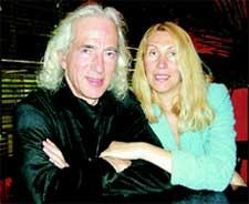 СЕВА НОВГОРОДЦЕВ: с женой Ольгой