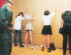 ПУТАНЫ: арестованы во время своего рабочего дня