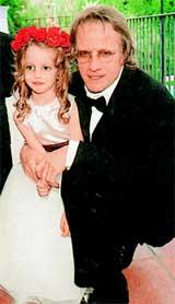 С дочерью Элинор