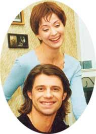 ОЛЬГА И ВАЛЕРИЙ: липовые любовники вместе только на фото