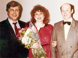 СВАДЬБА ГАЛИНЫ: свидетелем на торжестве был Владимир Винокур (1986 г.)