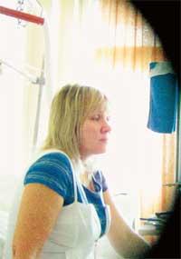 ИРИНА: в больничной палате