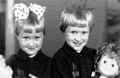НАДЯ И ОЛЯ: две лапочки-дочки