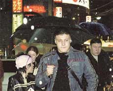 ВОЛКОВА И СИДОРОВ В ТОКИО: «татушка» даже свозила сожителя в Японию