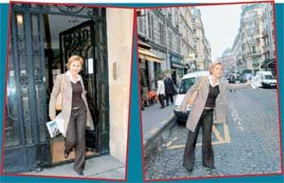 У ПОДЪЕЗДА: Жанна отправляется делать репортаж из французской булочной для собак