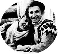 С МАРСЕЛЕМ МАРСО: юная Галочка очаровала великого мима (1961 г.)