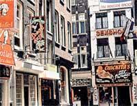 СПАЛЬНЫЙ РАЙОН: днём амстердамский квартал красных фонарей совсем не похож на гнездо разврата