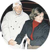 ЛЮБЯЩИЕ СУПРУГИ: Любшин с женой Ириной