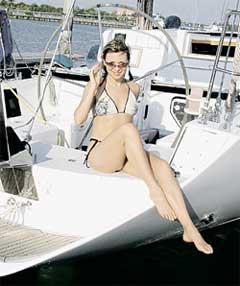 ЛИЧНАЯ ЯХТА ЛАРИСЫ И ДЖЕЙМСА: любовная лодка вывезла Черникову в майамский рай