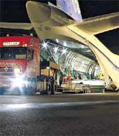 &#034РУСЛАН&#034: самый крупный самолет много чего может взять на борт