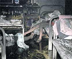 ПОСЛЕ ПОЖАРА В МОСКОВСКОЙ НАРКОЛОГИЧЕСКОЙ КЛИНИКЕ №17: такое не приснится и в кошмарном сне
