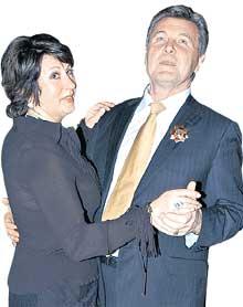 СЧАСТЛИВАЯ ЧЕТА: орденоносец Лева с женой Ириной