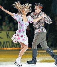 НАВКА И БАШАРОВ: победители программы «Звёзды на льду» (фото www.icesymphony.ru)