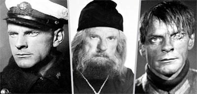 1935: «Лётчики», 1966: кинопробы, 1942: «Убийцы выходят на дорогу»