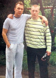 ЖУРАВЛЁВ с сыном