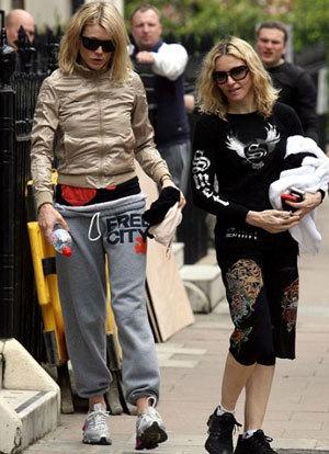 Гвинет Пэлтроу и Мадонна (фото «Splash»)