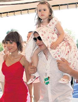 После развода Лиза согласилась на то, чтобы БАШАРОВ мог беспрепятственно видеться с дочкой
