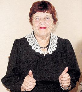 Сегодня Эмилия ЭСТЕРИНА вправе претендовать на попадание в «Книгу рекордов Гиннесса»