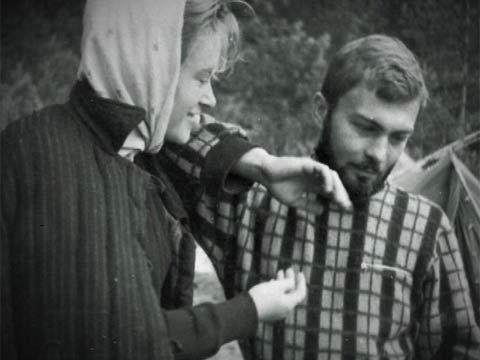Валентина Талызина с мужем Леонидом Непомнящим. Фото: 1tv.ru