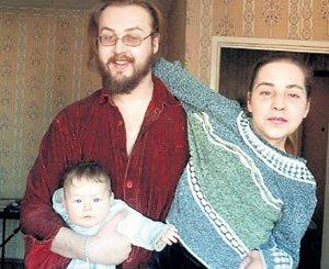 Борис ЛИВАНОВ с Женой Катей и дочкой Евой