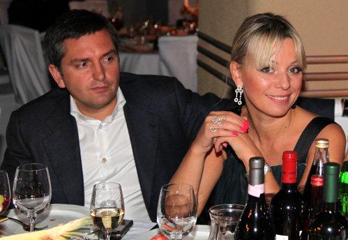 Ирина САЛТЫКОВА с мужем Игорем