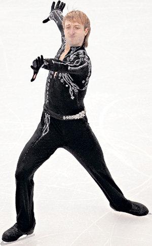 Даже за костюмы, в которых Женя выступал в Ванкувере, он платил из своего кармана (фото Владимира ВЕЛЕНГУРИНА/«Комсомольская правда»)