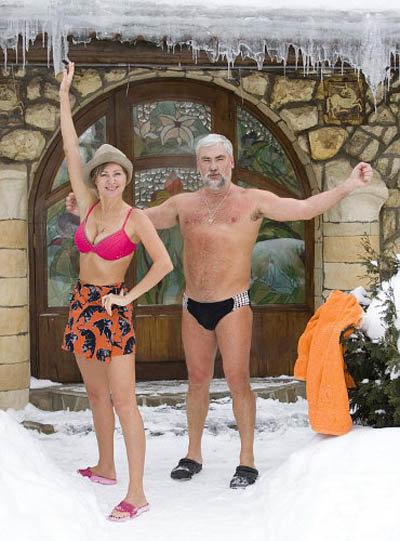 Вика Цыганова с супругом Вадимом