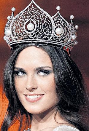 Корона победительницы подчеркнула красоту уралочки
