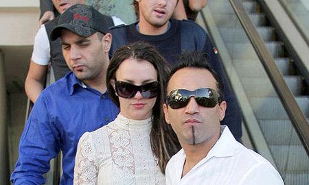 Сэм Люфти, Бритни Спирс и Эднан Халиб в 2008-м году