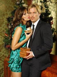 Оксана с мужем Филиппом ТОФТОМ