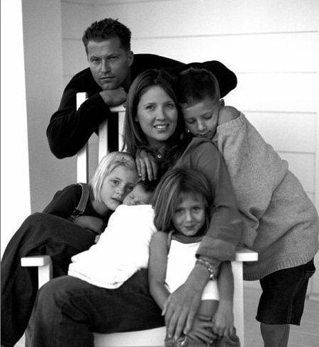 Тиль ШВАЙГЕР с женой и детьми