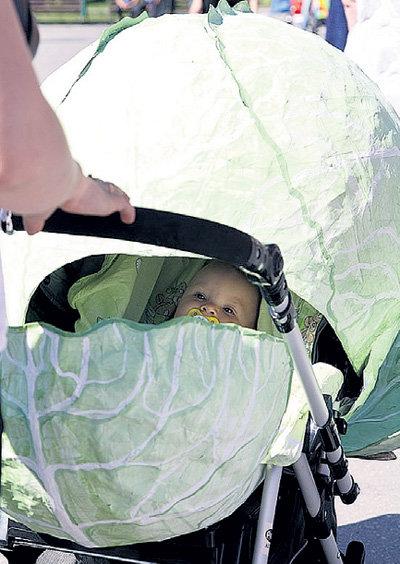 Этого малыша родители находят в капусте каждый день