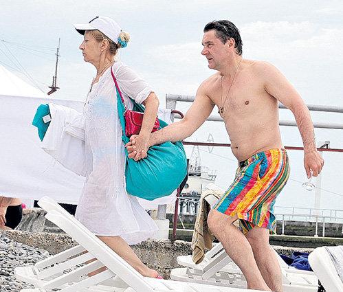 Жена Сергея МАКОВЕЦКОГО Елена уже 27 лет держит курс семейного судна