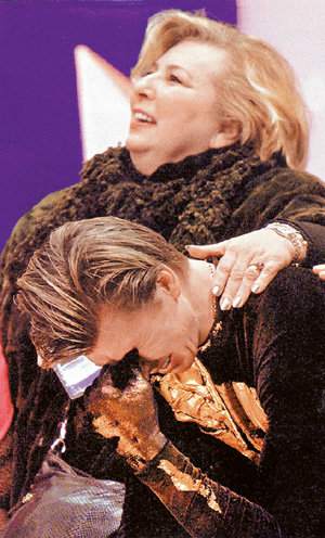 Татьяна ТАРАСОВА помогла выиграть олимпийское «золото» не только ЯГУДИНУ, но и паре ГРИЩУК - ПЛАТОВ. Однако Оксана с ней не принципиально не разговаривает