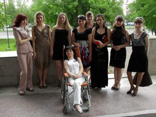 Ирина с одногруппниками