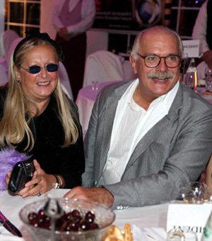 Никита Михалков с женой Татьяной