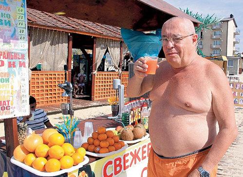 Марк РОЗОВСКИЙ каждое утро поправлял здоровье апельсиновым фрешем