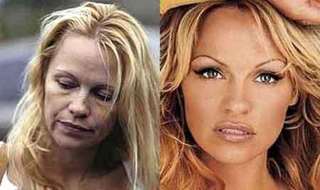 Без макияжа Памела выглядит намного старше своих лет - фото kp.ru