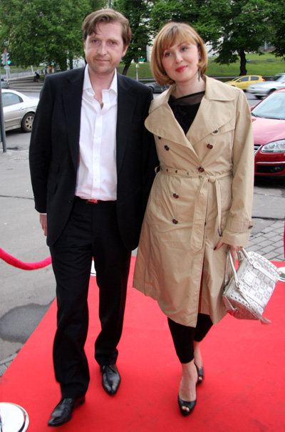 Елена ИЩЕЕВА с мужем Филиппом. Фото Ларисы КУДРЯВЦЕВОЙ